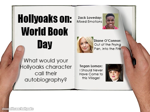 Hollyoaks on: World Book Day