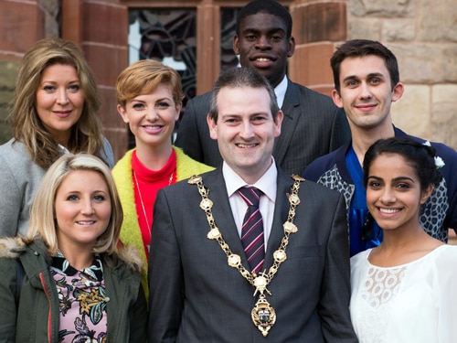 Hollyoaks goes to Derry