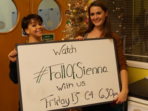 Watch the #FallOfSienna episode with Anna & Jess