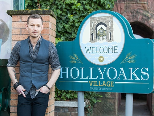 Adam Rickitt joins Hollyoaks as Nancy's ex-lover!