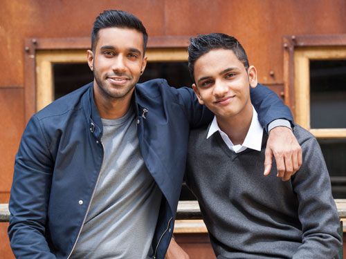 FriYAY: An Interview with Ijaz Rana (Imran) & Rishi Nair (Sami)