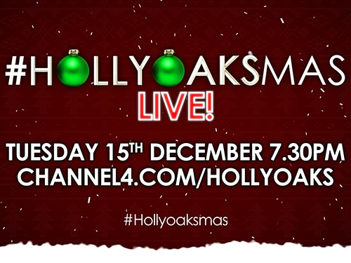 #Hollyoaksmas LIVE is Back Again!
