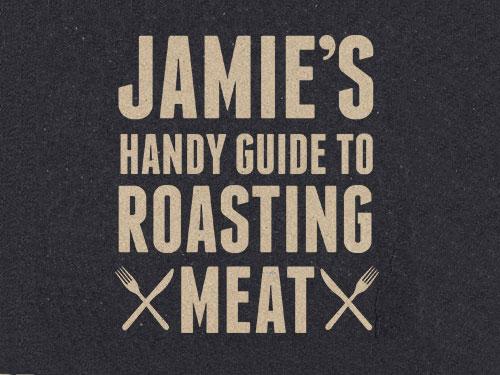 Jamie Oliver Roasting Meat guide