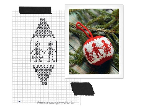 Kirsties Handmade Christmas Articles Knitted Christmas Balls