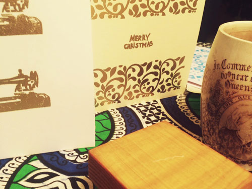 How to Make Rubber Stamp Embossed Cards