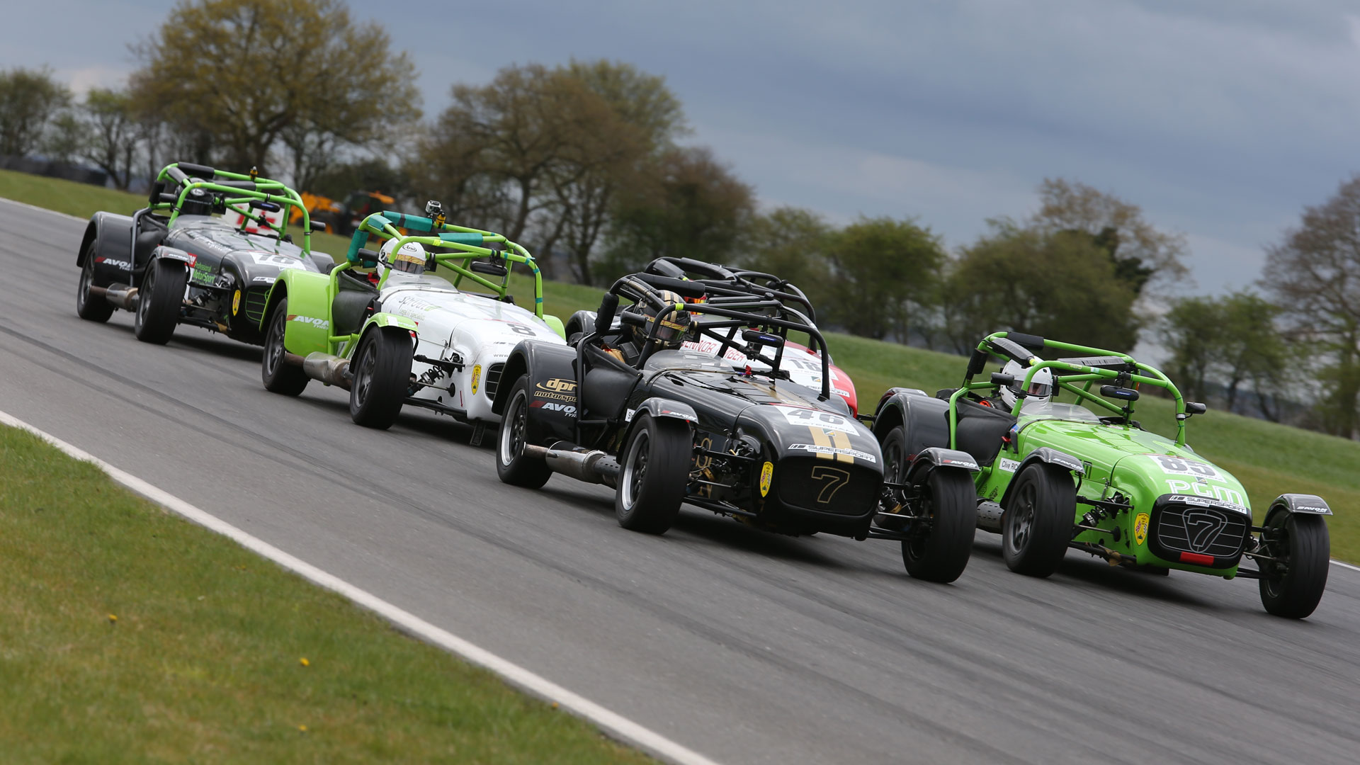 Caterham Motorsport - climbing the ladder in the iconic lightweight sports car