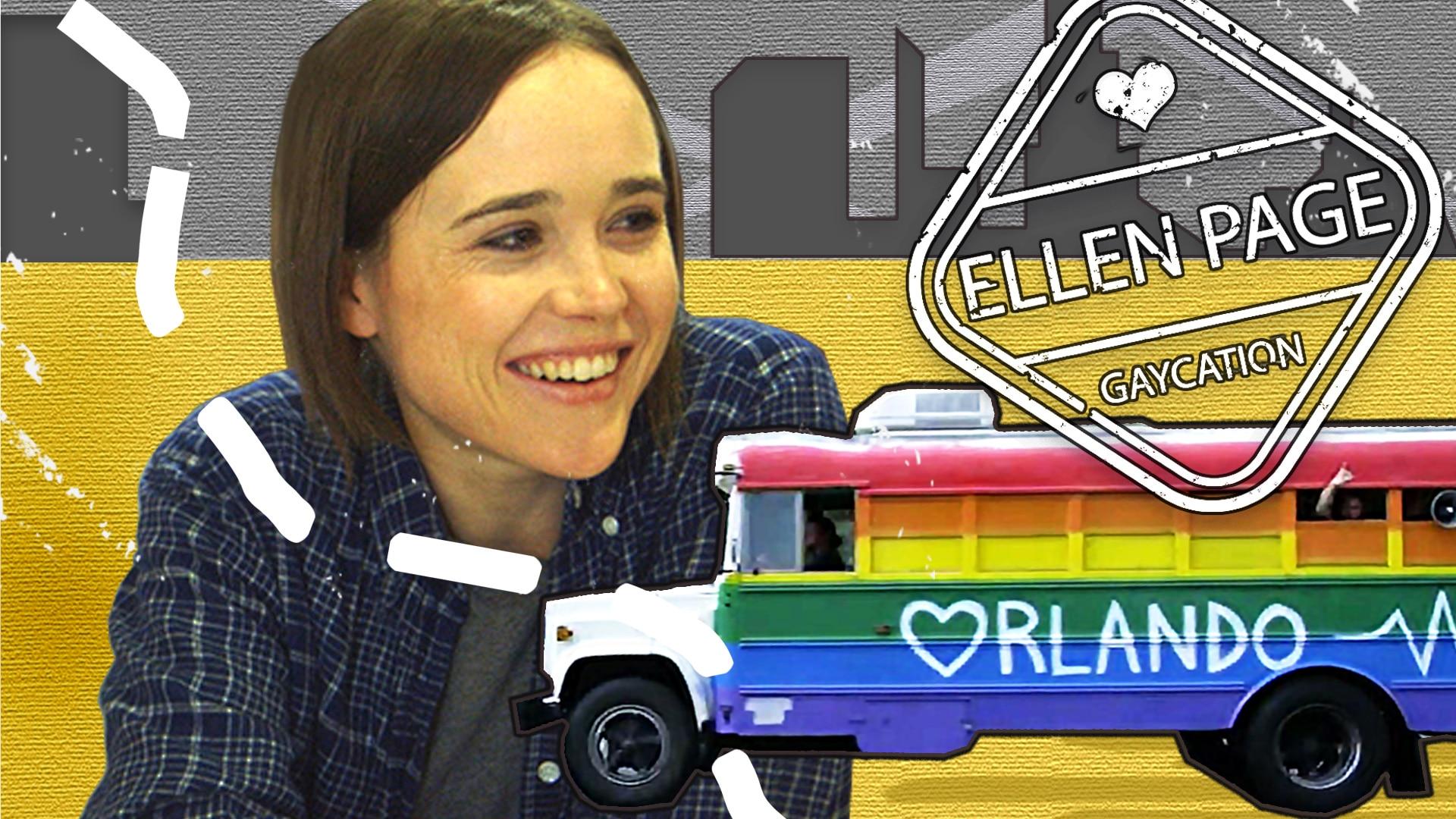 Ellen Page Gaycation Orlando