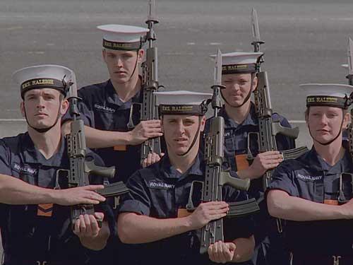 Royal Navy School Video Extra
