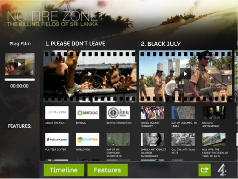 No Fire Zone App