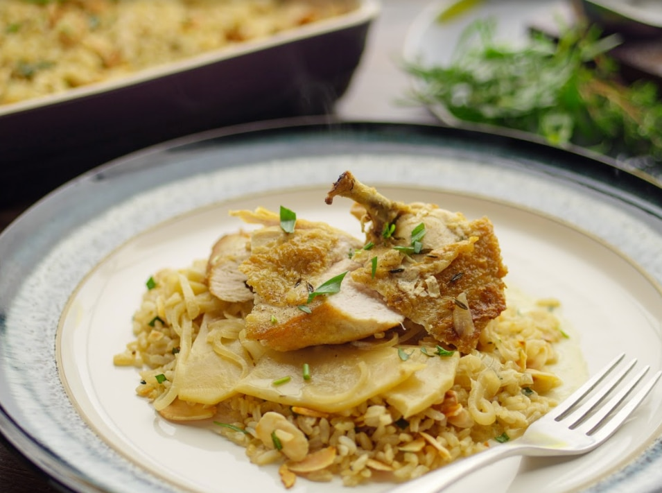 Sunday Brunch Articles Chicken With Cider And Crme Frache All 4