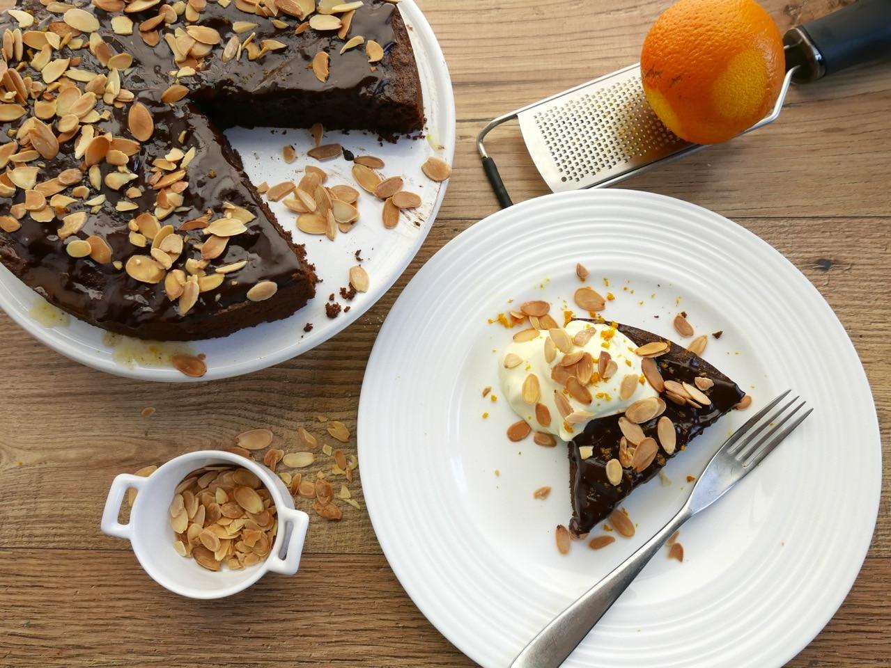 Chocolate and Marmalade Cake