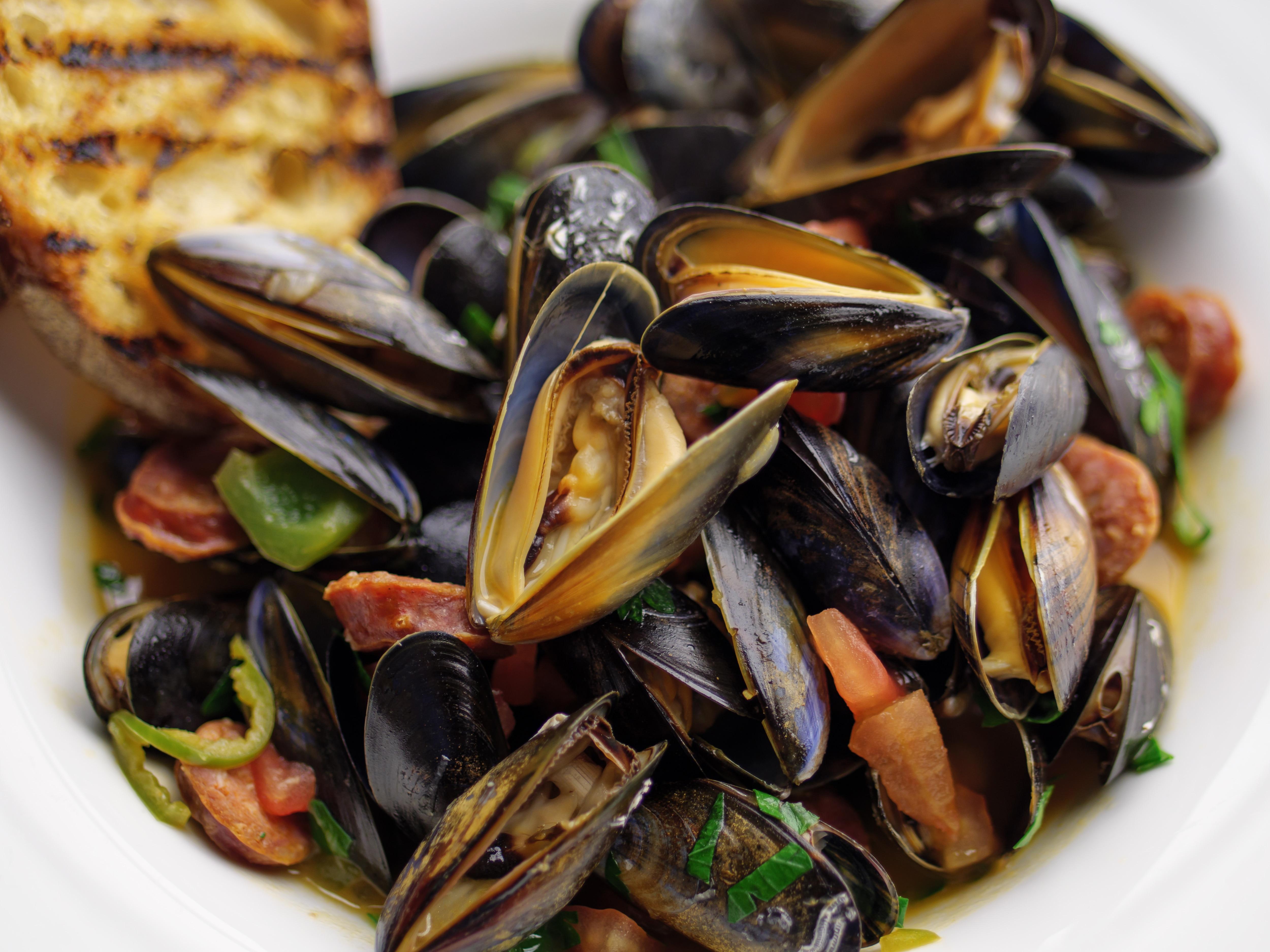 Portuguese Mussel Stew