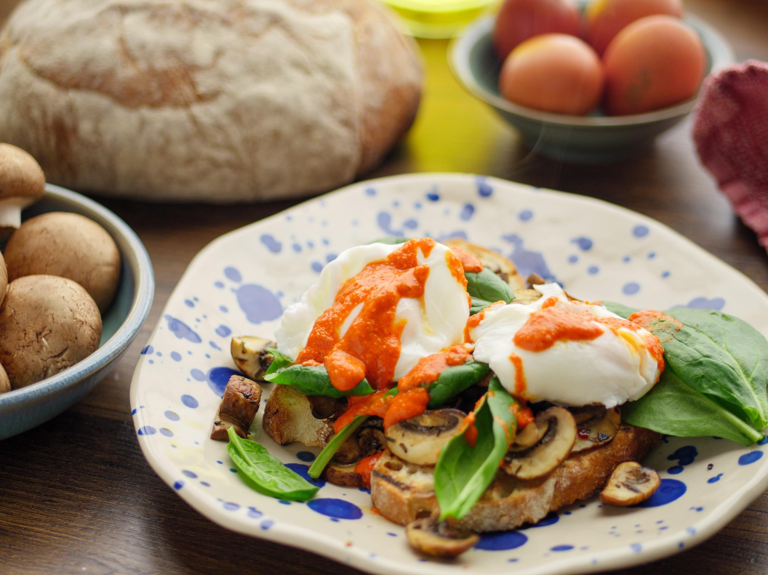 Madeleine Shaw's Beautiful Breakfast Salad