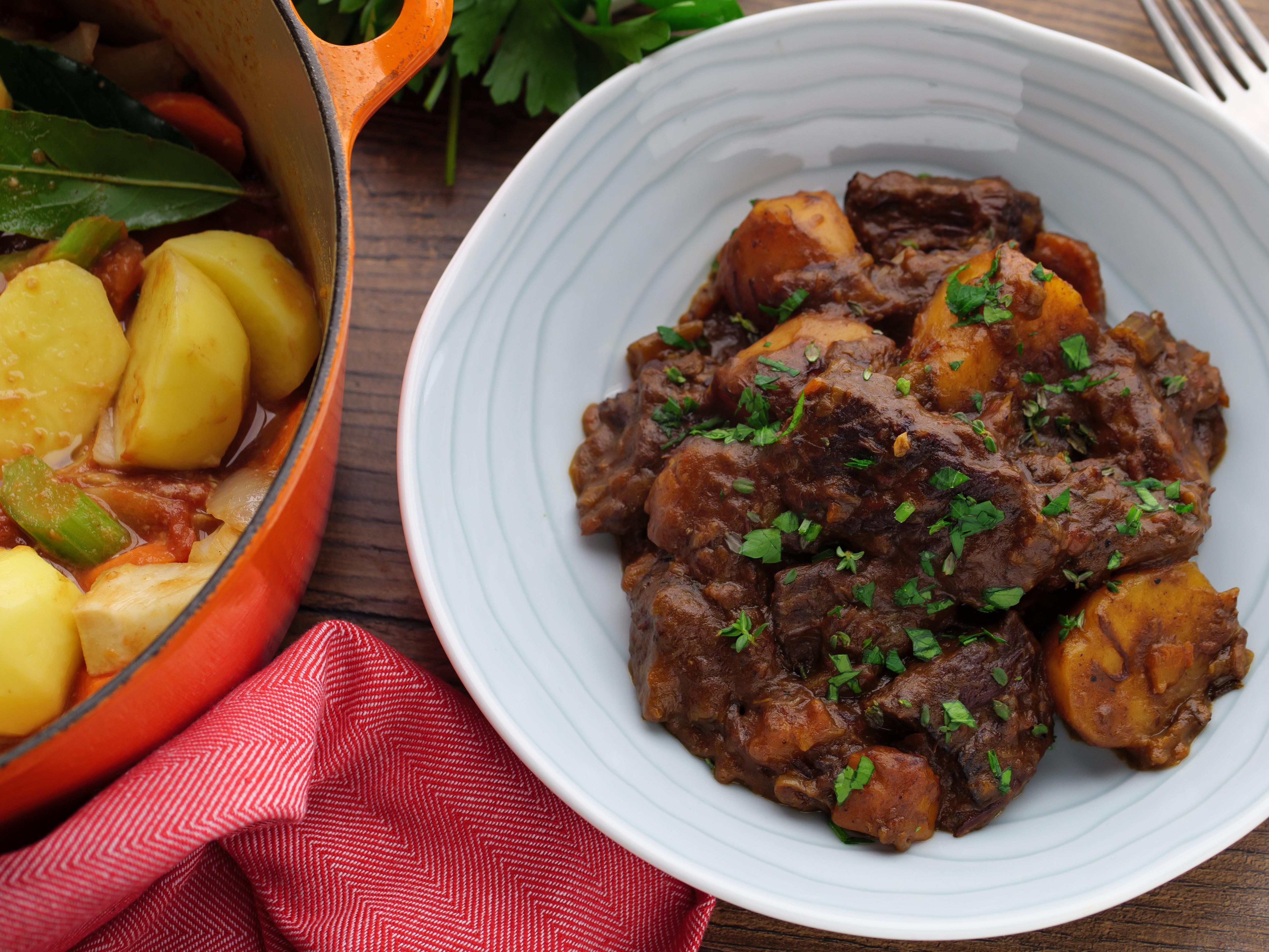 Beef & Maple Stew