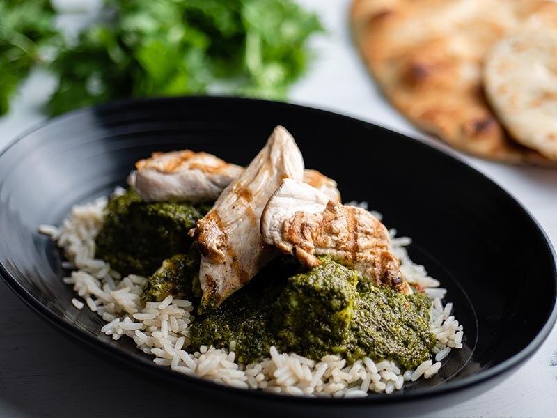 Sunday Brunch Articles Goan Green Chicken Curry All 4