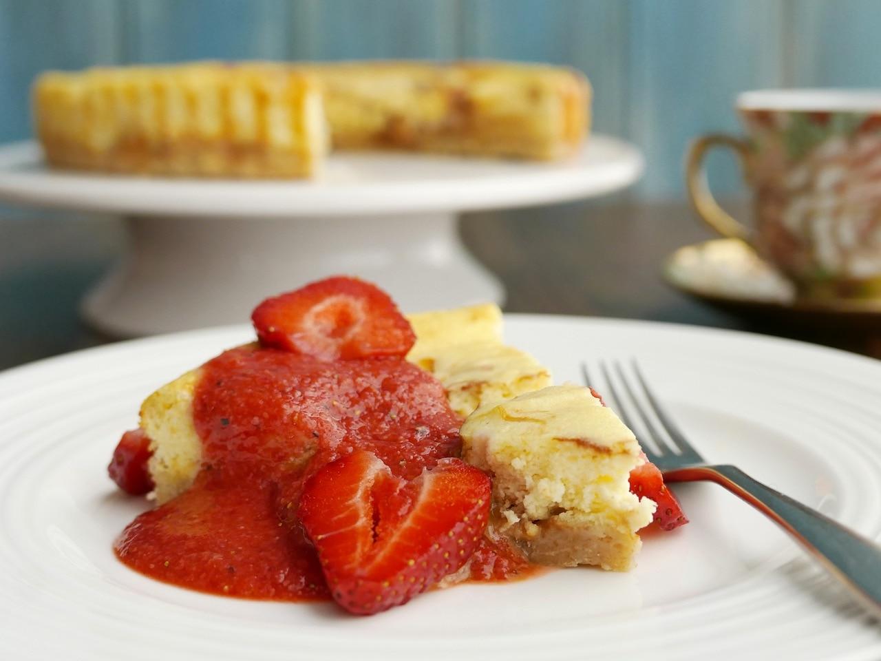 Dulche de Leche Cheesecake Tart