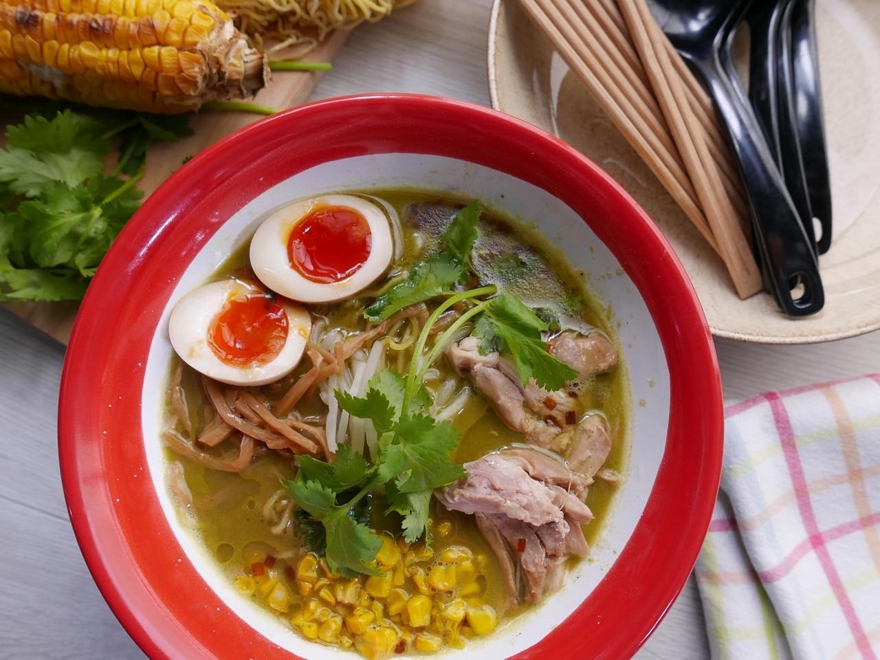 Thai Green Curry Ramen