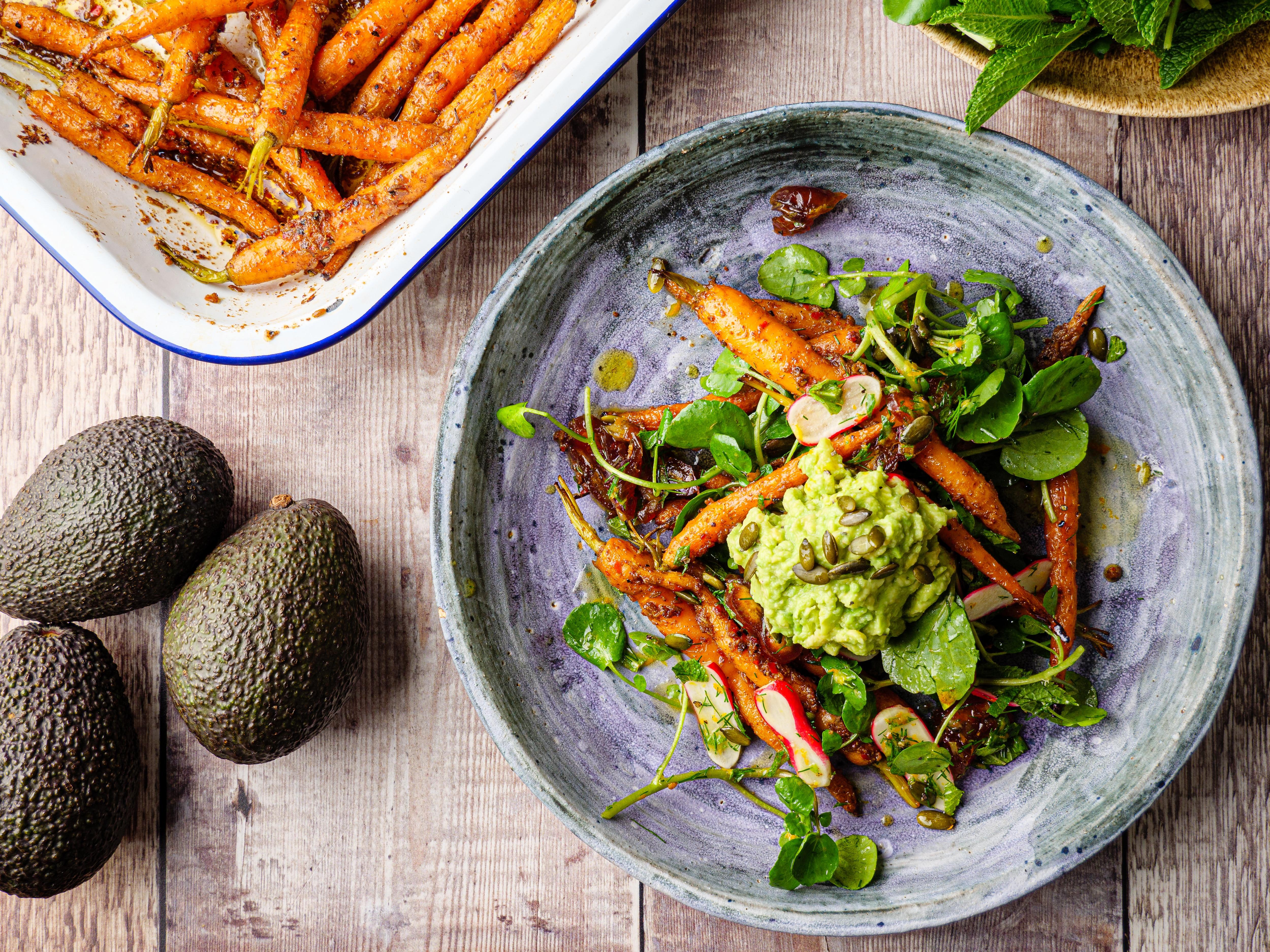 Carrot & Avocado Salad