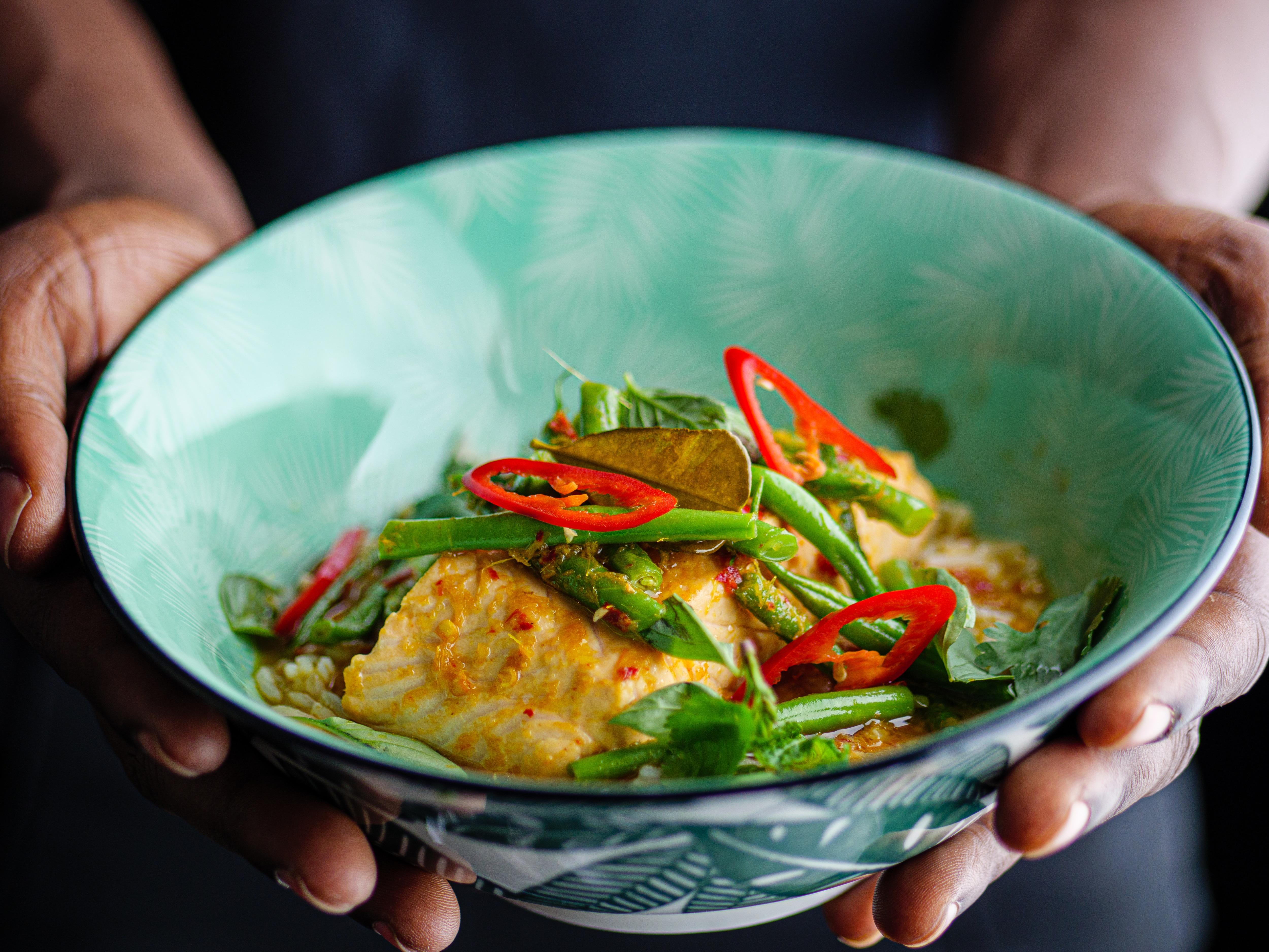 Salmon Thai Curry
