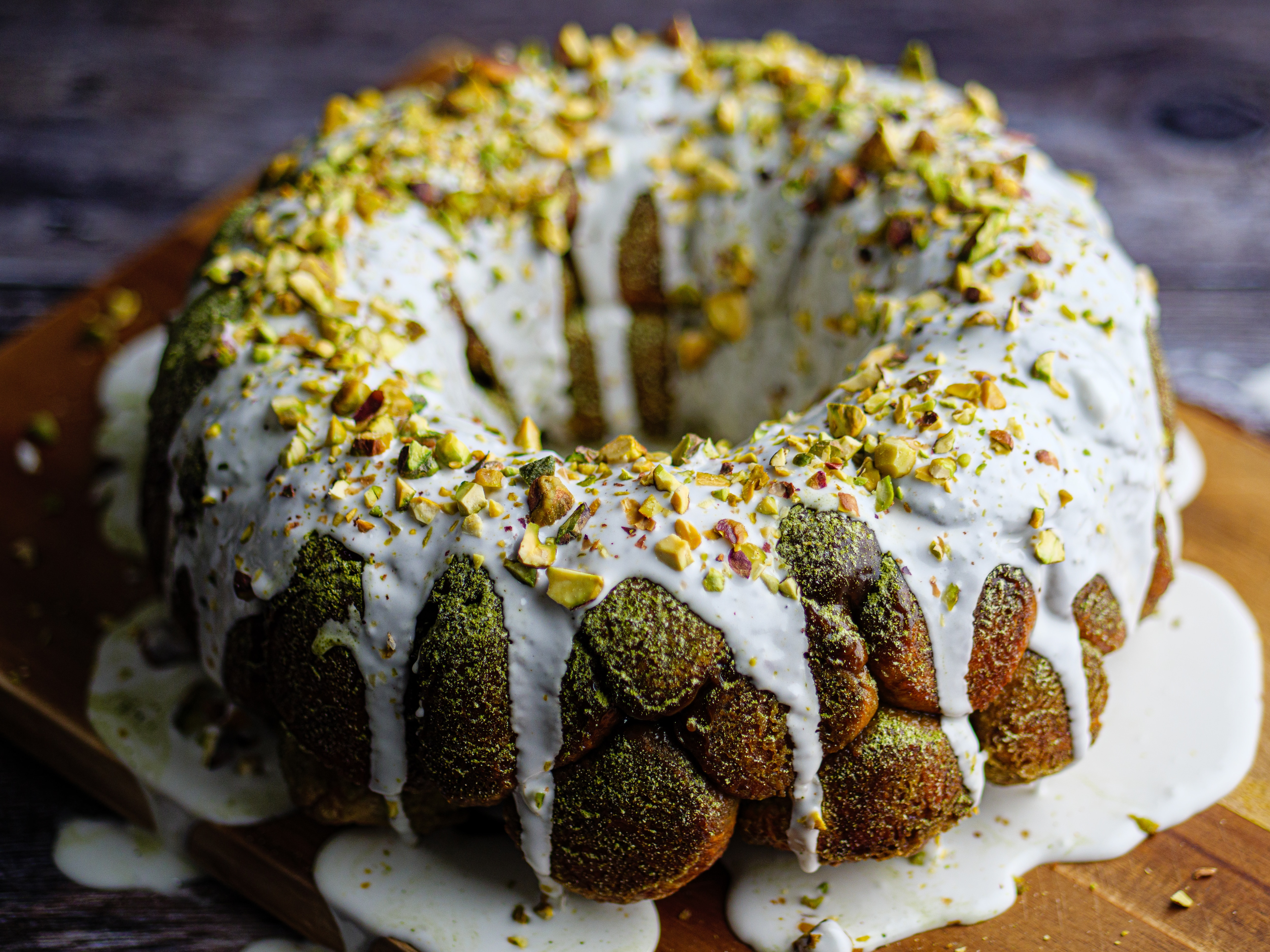 Green Tea Monkey Bread