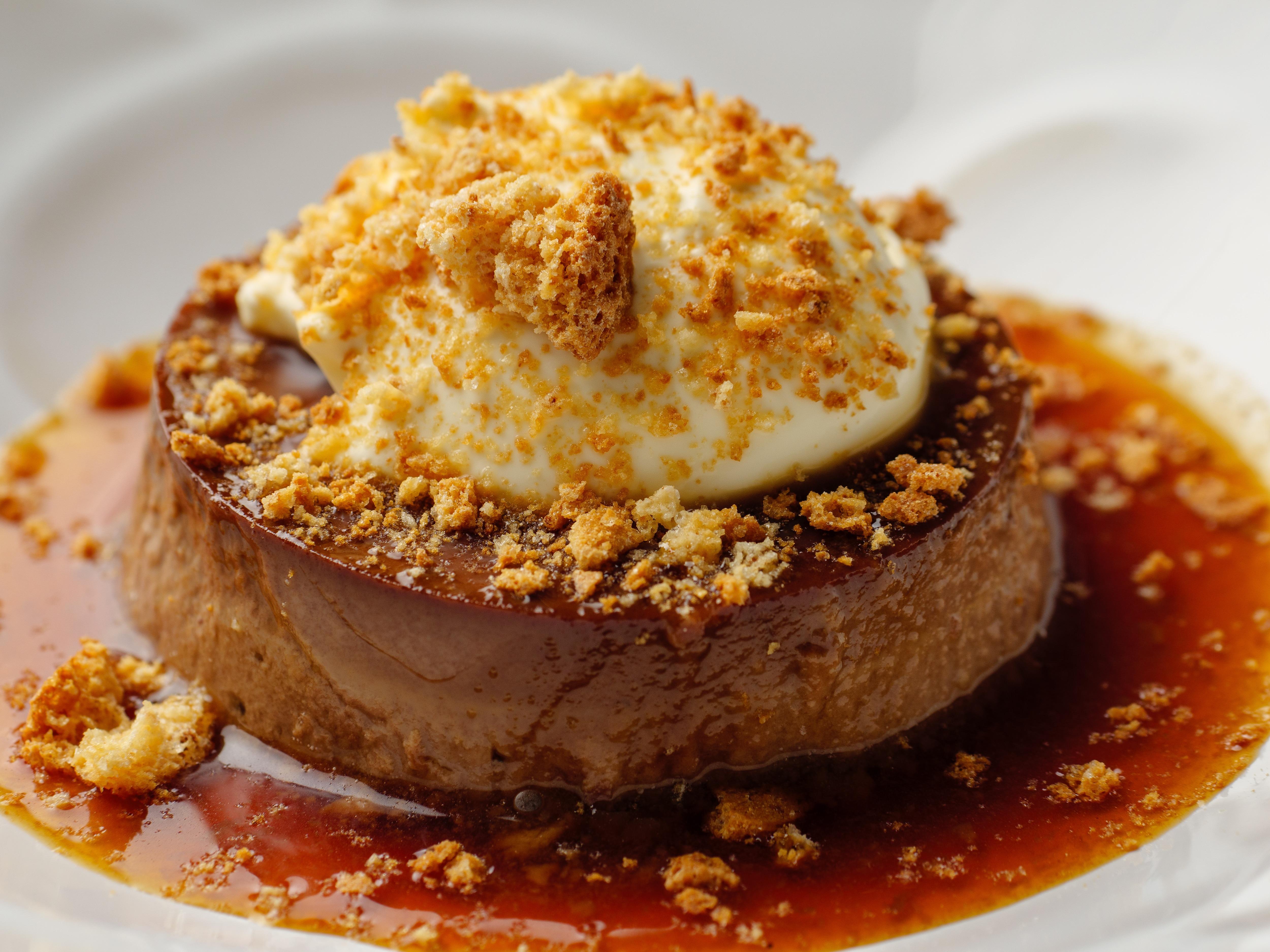 Bonet (Chocolate Creme Caramel)