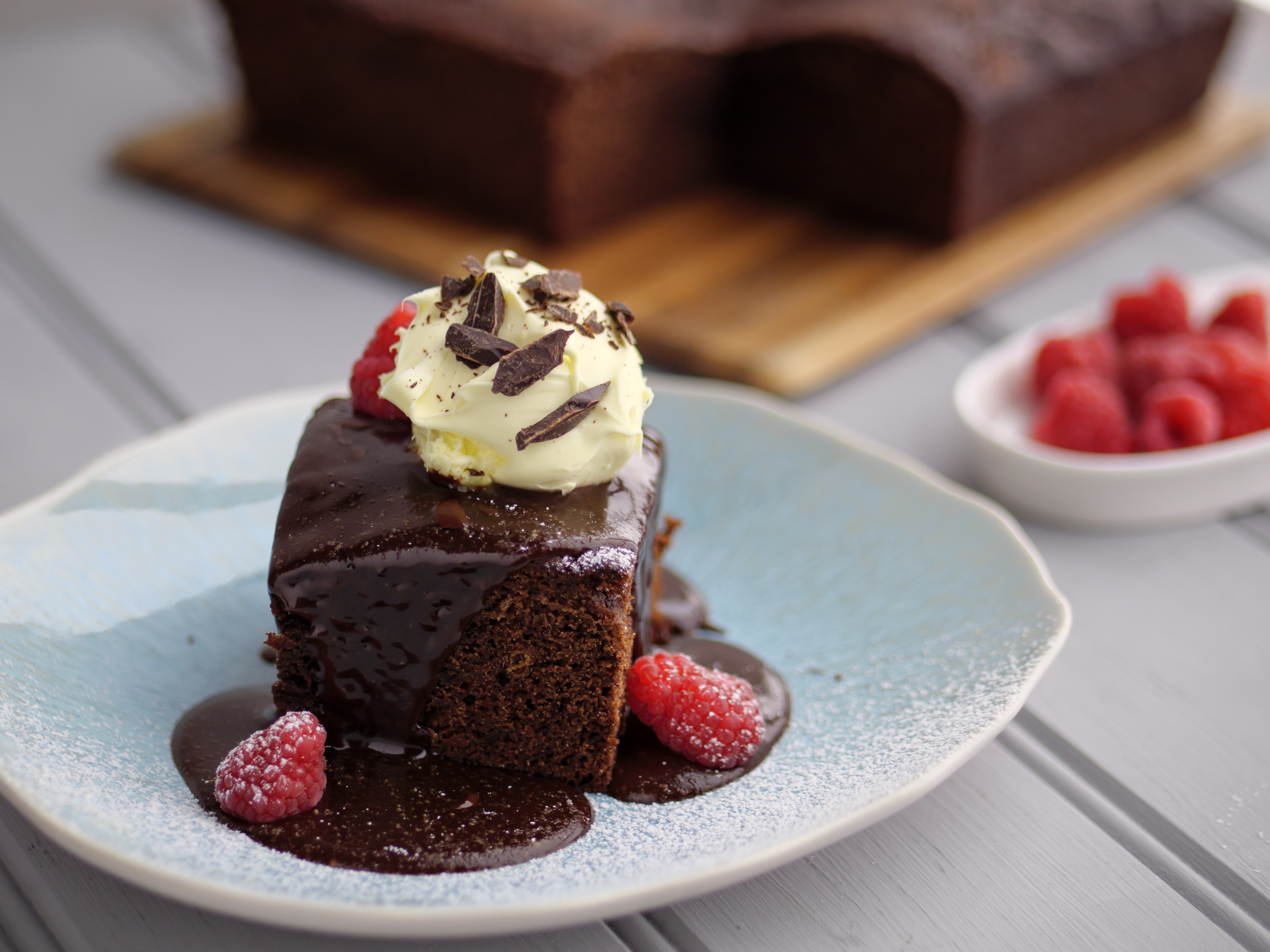 Sticky Chocolate Toffee Pudding