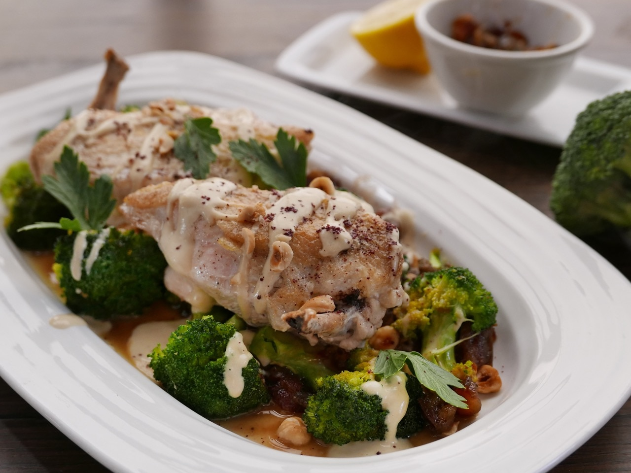 Chicken with Broccoli and Dates