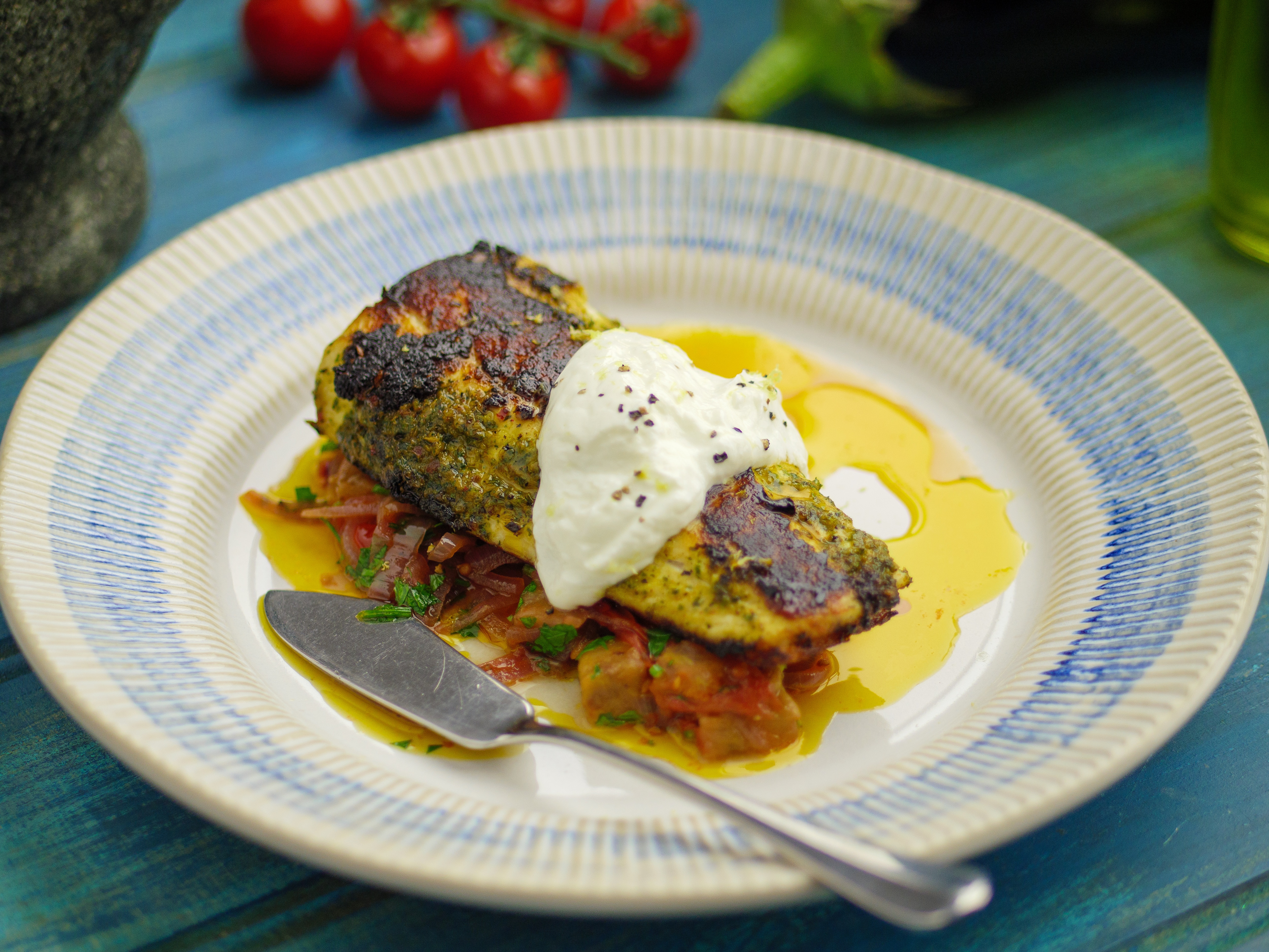 Brill Fillets With Chermoula