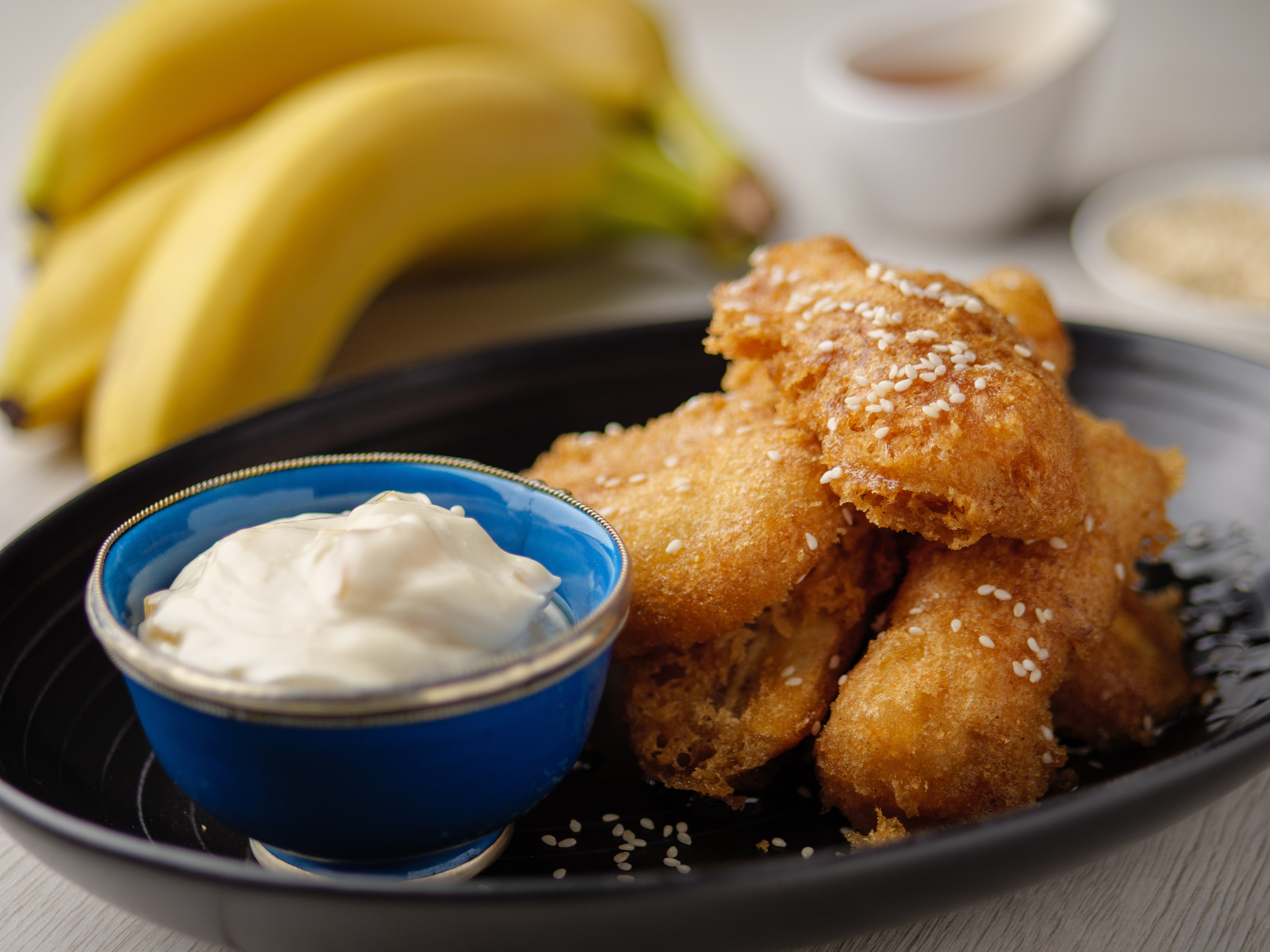 Spiced Banana Fritters