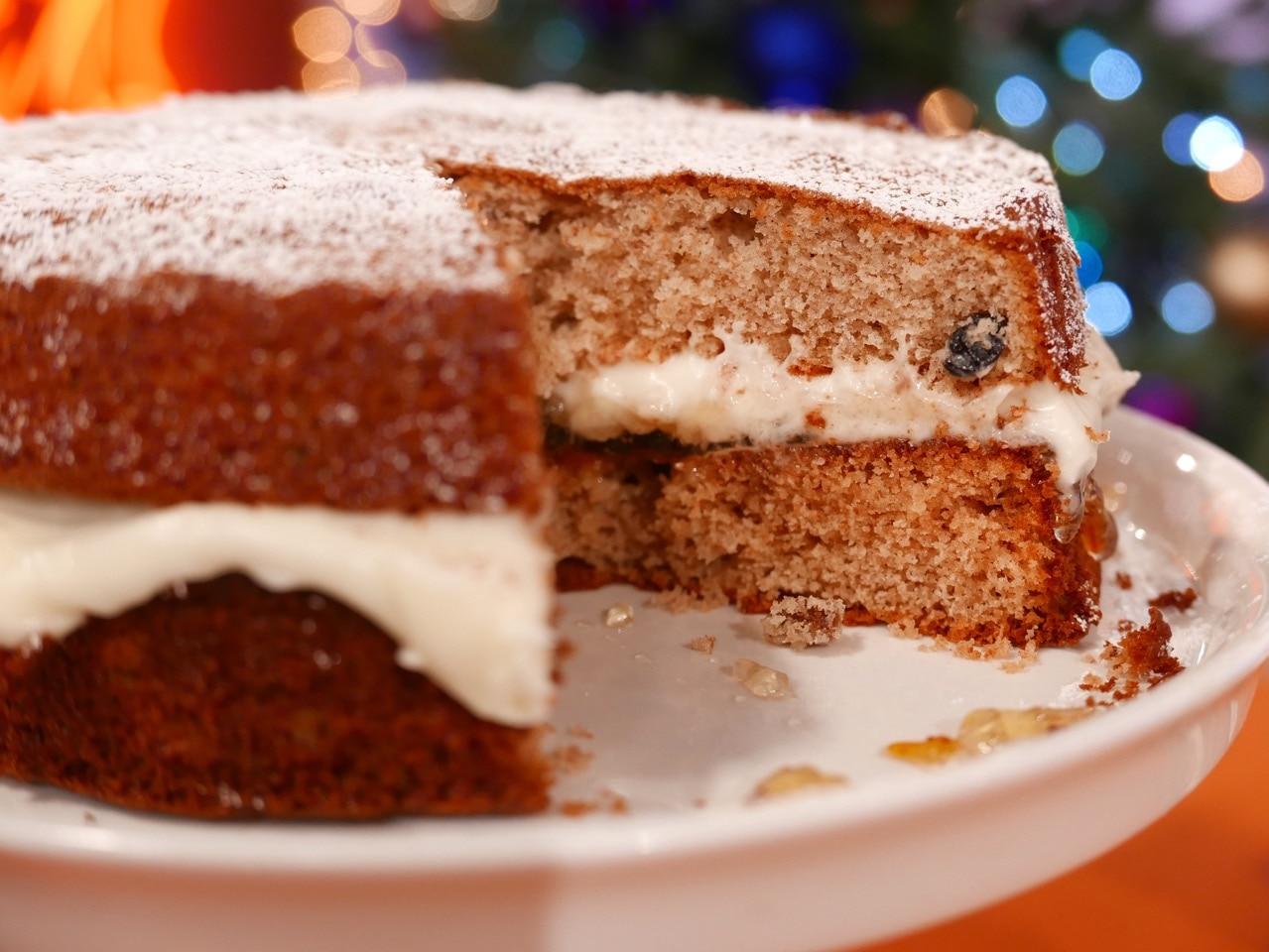Alternative Christmas Cake.Sunday Brunch Articles Alternative Christmas Cake All 4