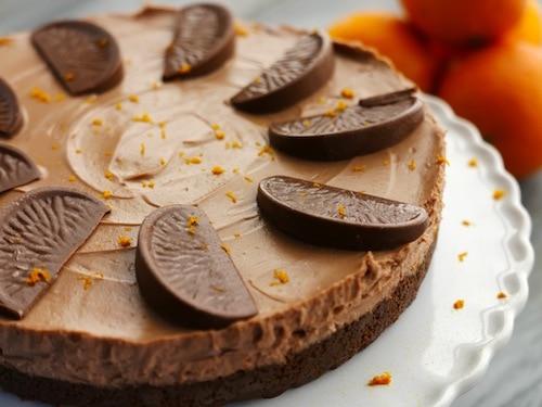 Sunday Brunch - Articles - Chocolate Orange Cheesecake