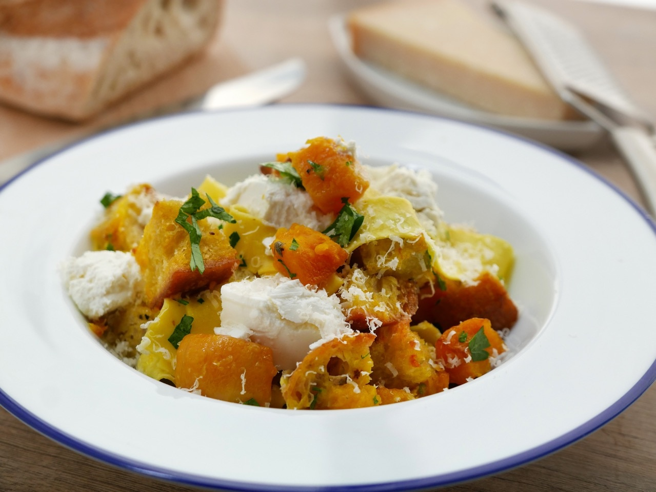 Pappardelle with Butternut Squash