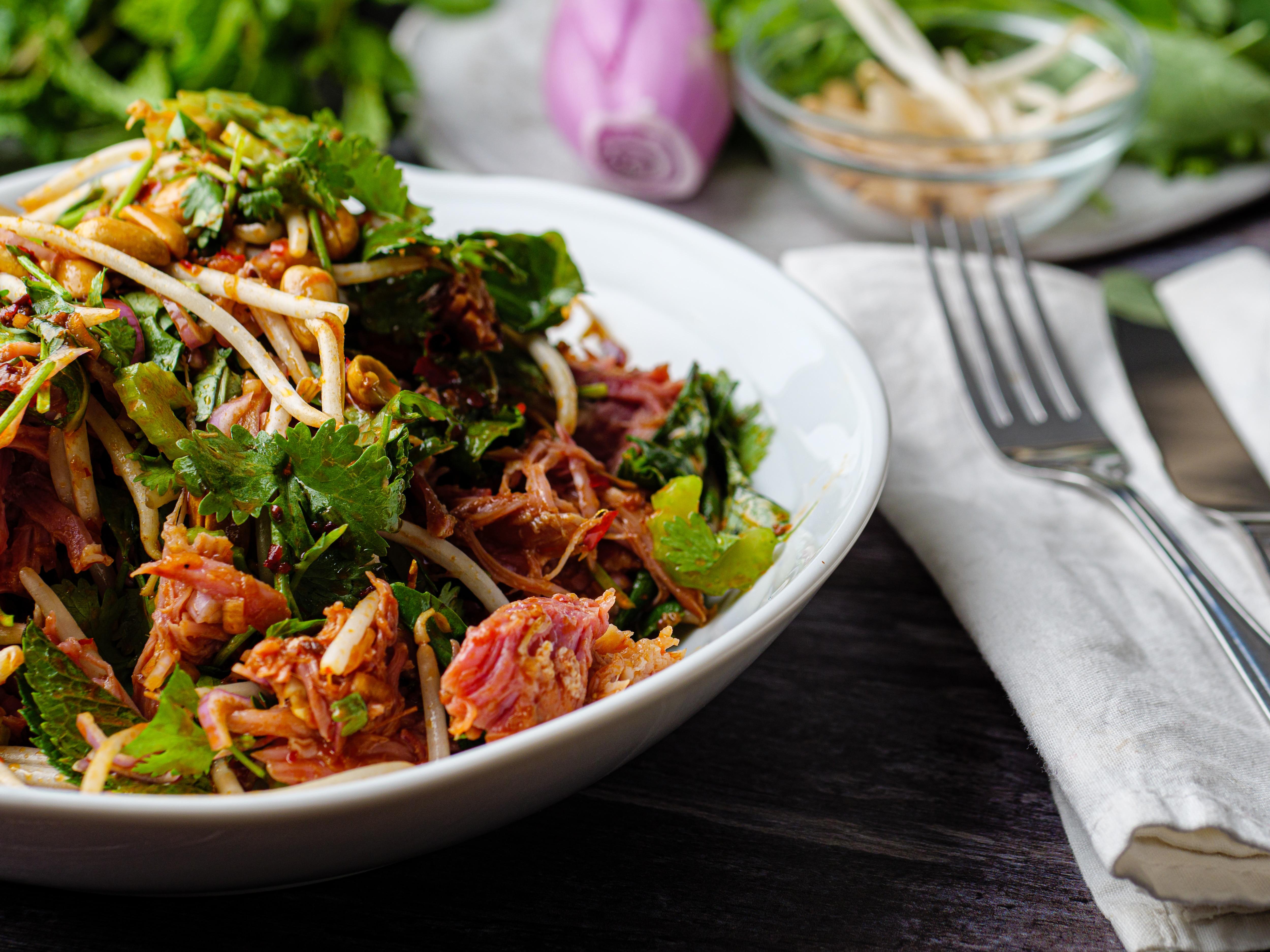 Miso Ham Salad