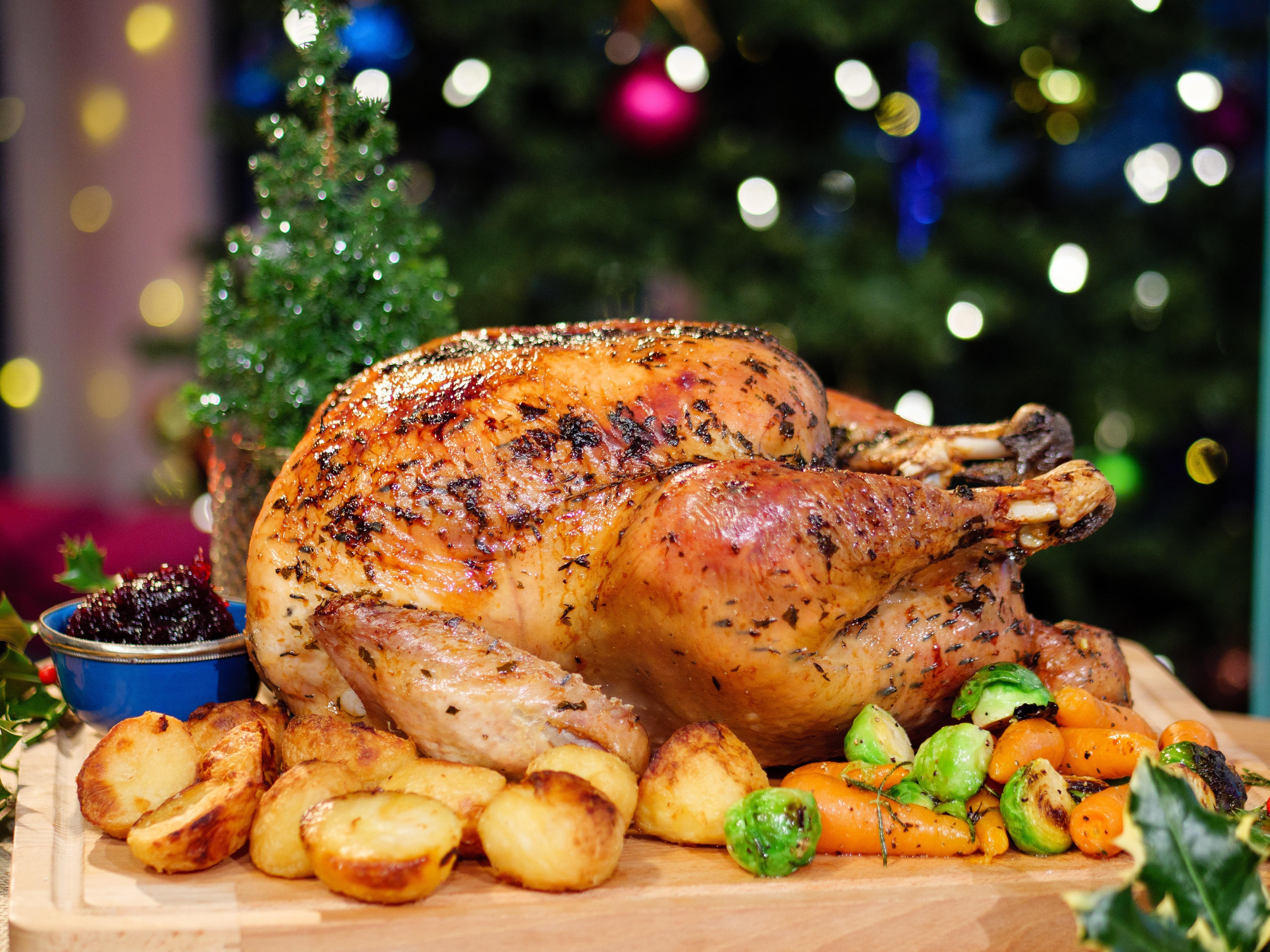 Brown Sugar & Maple Glazed Turkey