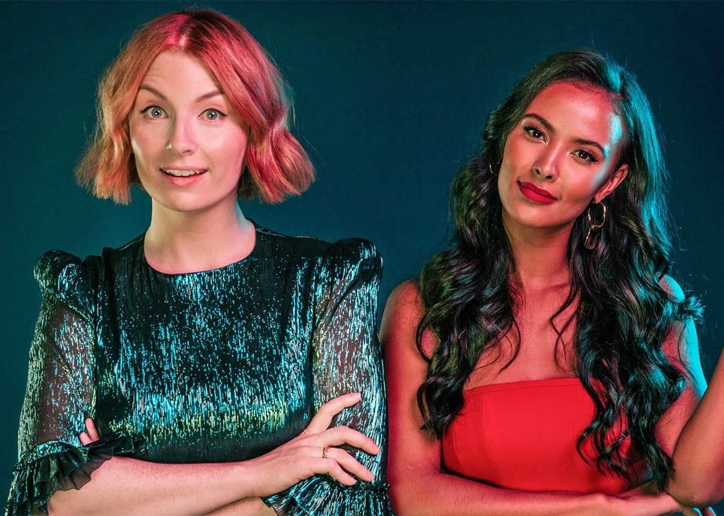 The Circle's Presenters: Maya Jama and Alice Levine