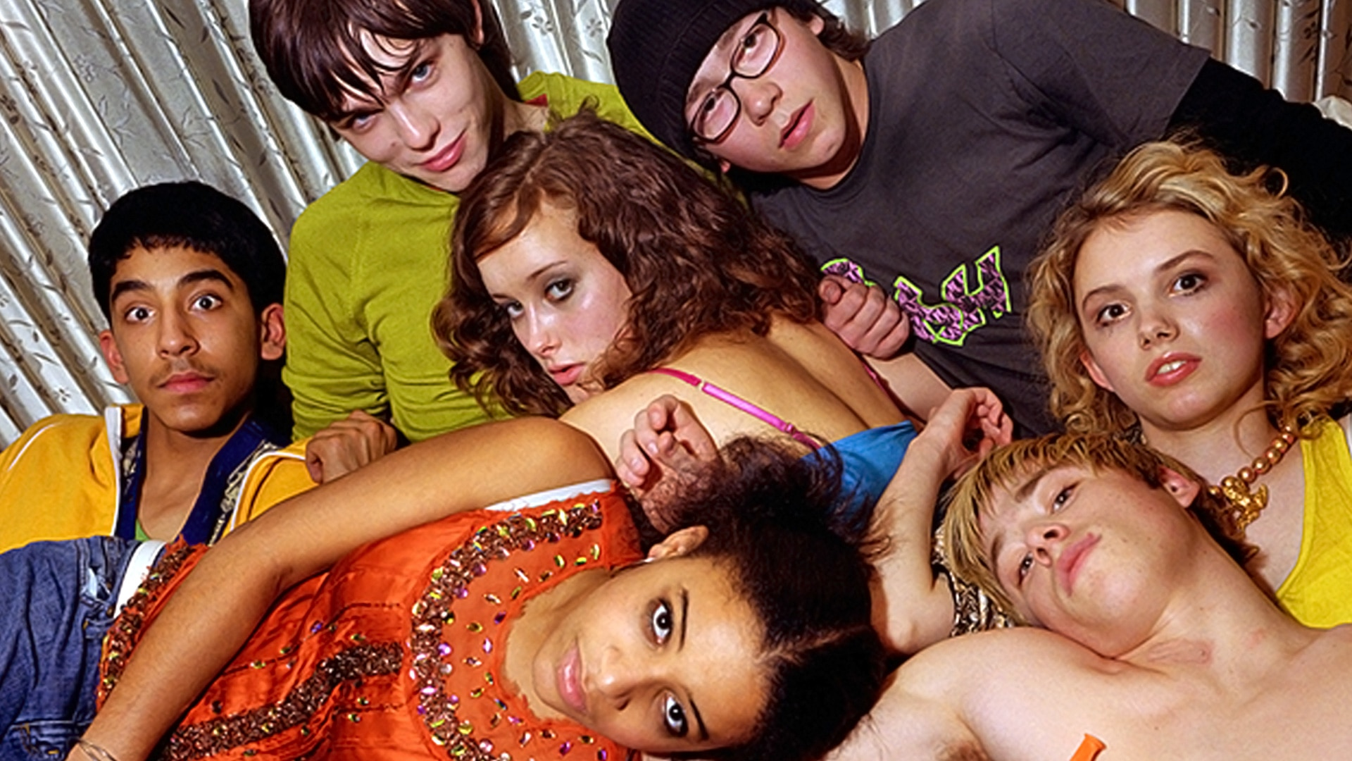 The skins cast lying in a pile