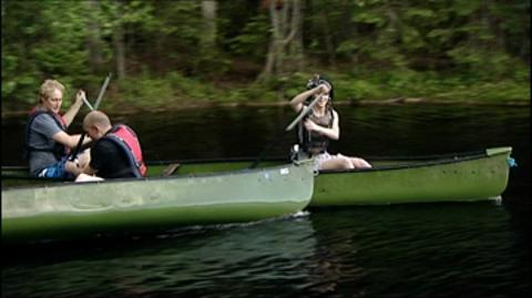 Finland: Canoe Race