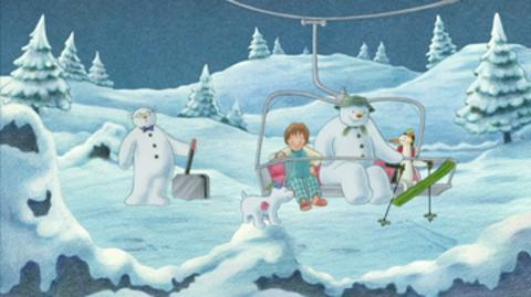 Snowy Gathering