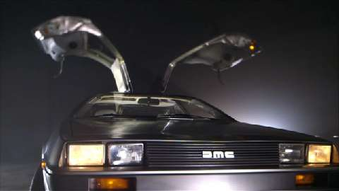 Back to the… Delorean DMC-12