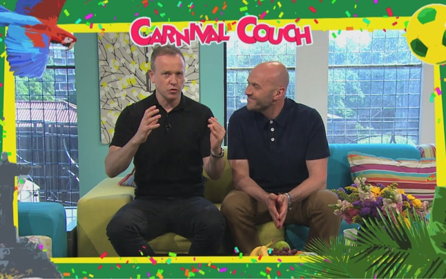 Sunday Brunch Carnival Couch