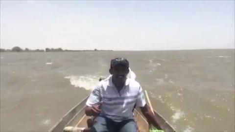 Walking the Nile: River Crossing