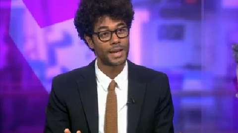 'Don't thank me, I've done nothing for you' - Richard Ayoade