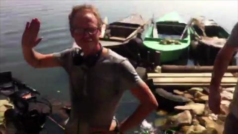 Walking the Nile: Final Morning of Walking the Nile