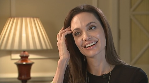 Angelina Jolie on Brad Pitt and the Brits