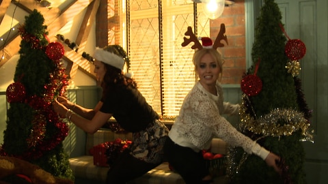 McQueen Christmas Tree Battle