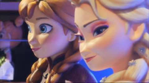 Frozen at Christmas Trailer