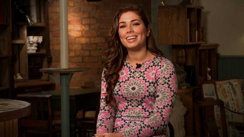 #HollyoaksAAA with Nikki Sanderson