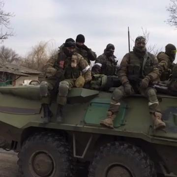 Inside Debaltseve with the pro-Russian rebels