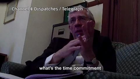 Politicians For Hire - Jack Straw