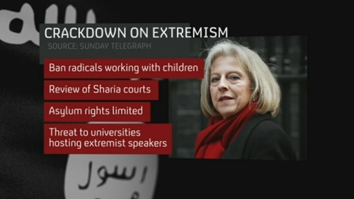 Leaked document calls for tougher extremism strategy
